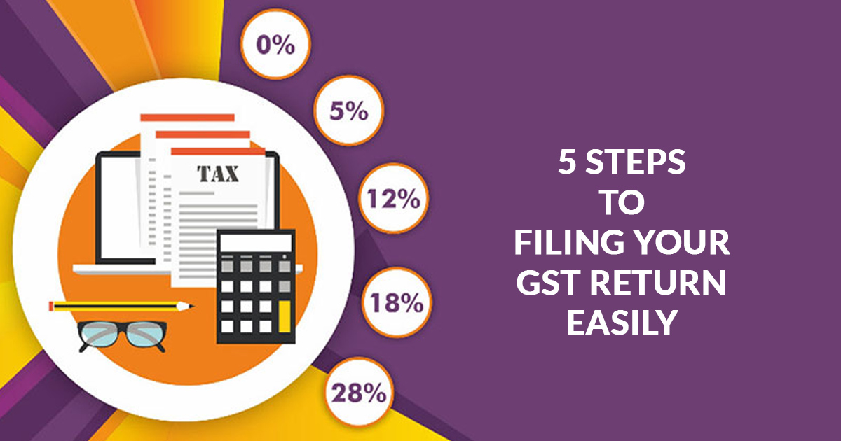 5 Way to Filing Your GST Return Easily | File GST Return Online