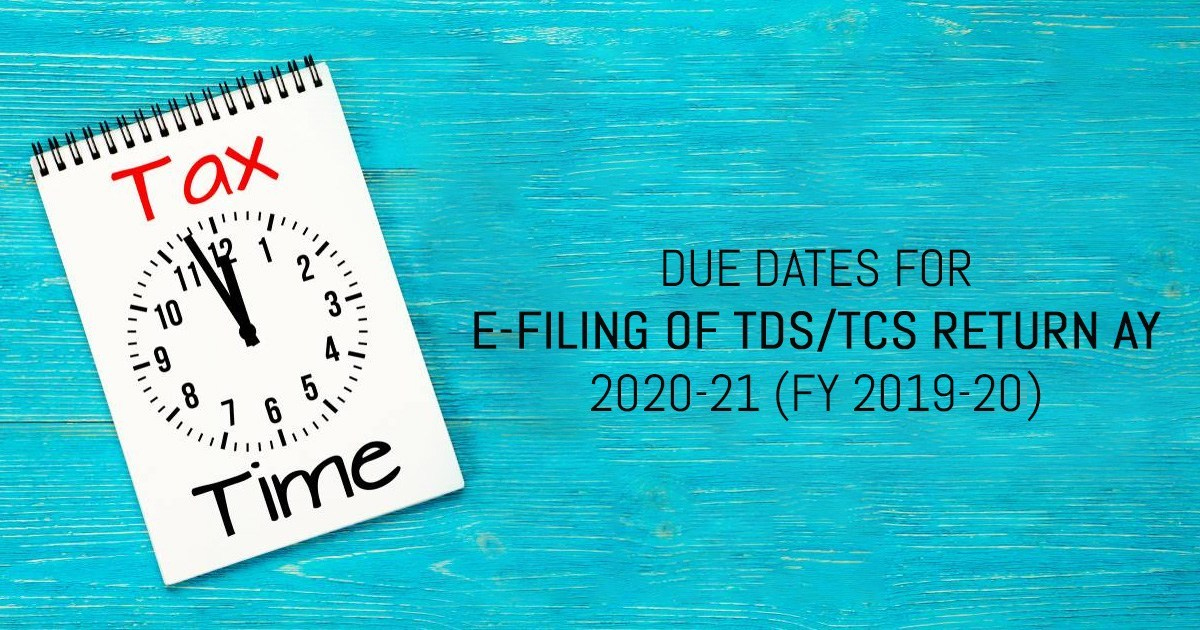 TDS TCS Due Date