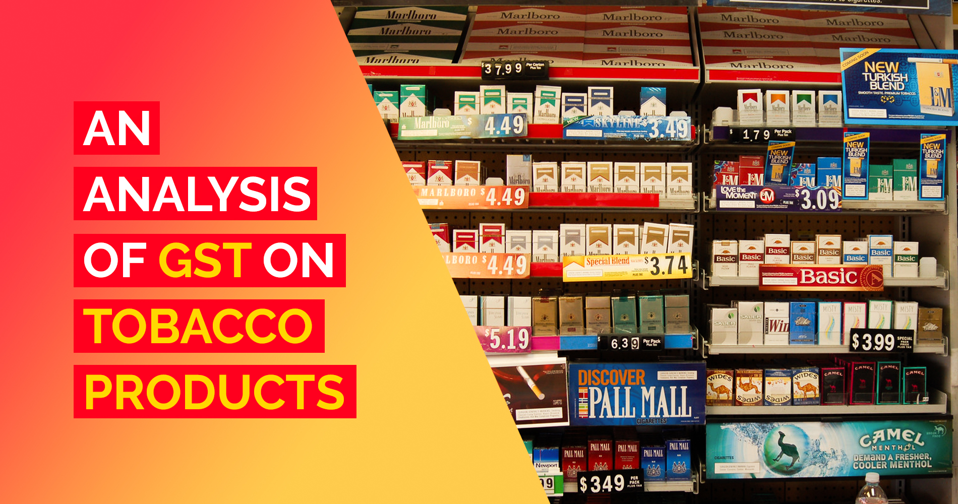 GST Rate on Tobacco Products
